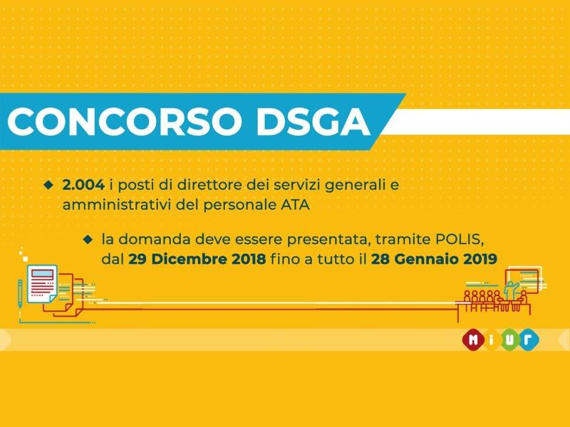 Corso di Formazione per la preparazione al CONCORSO ORDINARIO per DSGA